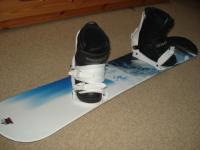 predám detský snowboardový set
