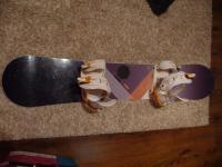 snowboard Nitro + boty