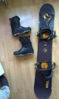 Snowboardový komplet