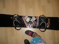 predám používaný  snowboard