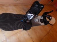 predam snowboard, viazanie a topanky