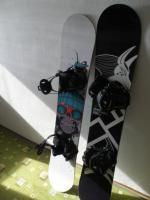 Snowboard Gravity, viazanie Flow