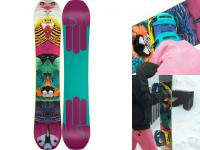 BATALEON snowboard + SWITCHBACK bindings