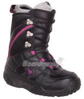 Dámske topánky na snowboard Northwave Freedom Lady black / violet