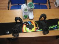 Kompletné <strong> snowboard set </ strong> Burton